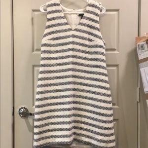 JCrew Striped Shift Dress